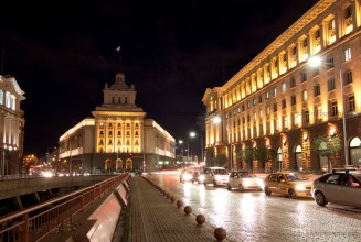 The former communist party headquarters